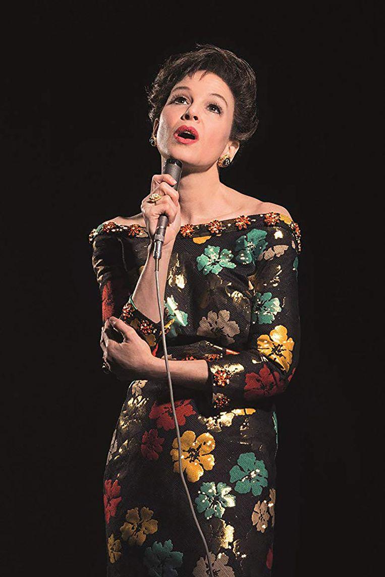 Renee Zellweger als Judy Garland. Beeld