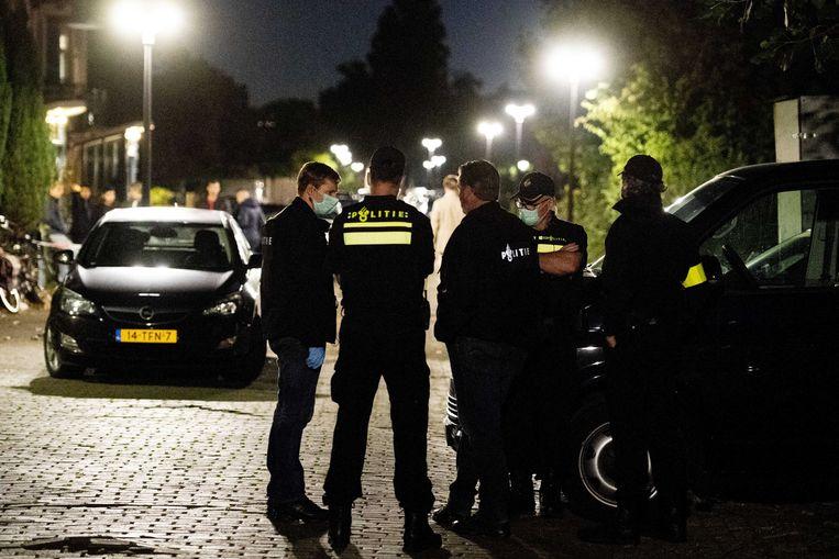 Politieonderzoek in een woning in Vlaardingen Beeld ANP