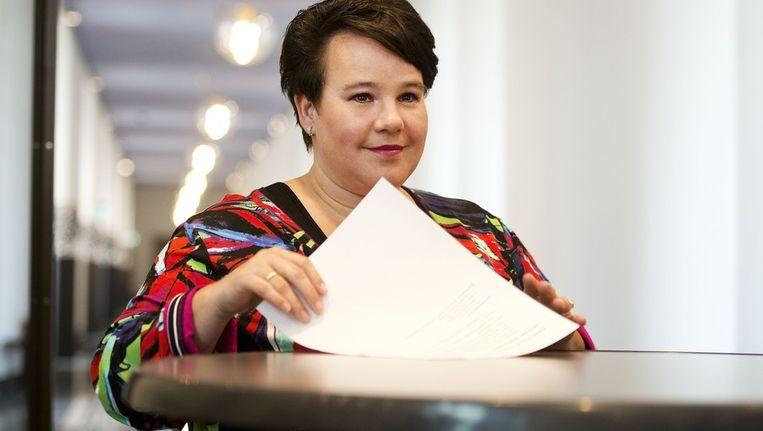 Staatssecretaris Sharon Dijksma van Economische Zaken Beeld ANP