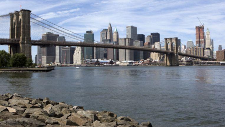 De twaalf jongeren uit De Baarsjes gaan naar New York als beloning voor goed gedrag. Foto ANP Beeld