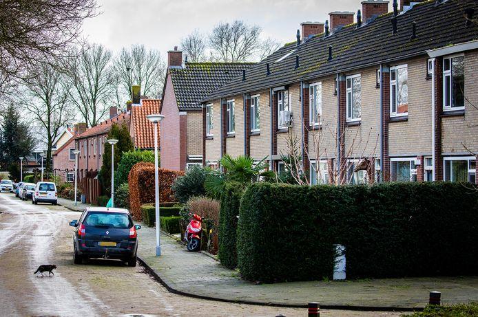 De Zweedsestraat in 's-Gravendeel.
