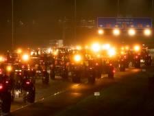 Gelderse boeren van de snelweg af: 'Ineens reden er trekkers op alle banen'
