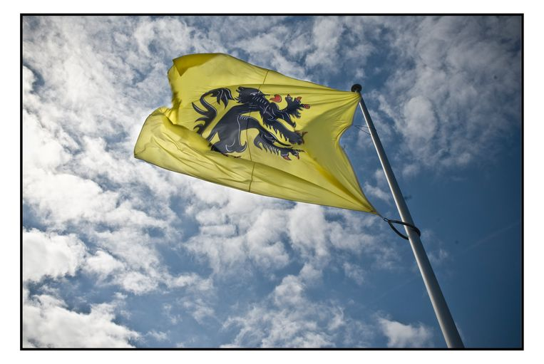 De Vlaamse vlag.