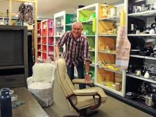 Bram van den Berge, vrijwilliger bij kringloopwinkel Woord en Daad: 'We zijn geen verlengstuk van de milieustraat'
