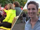 Hanne heeft een bar tussen maiskolven en zonnebloemen: 'Het is super gaaf'