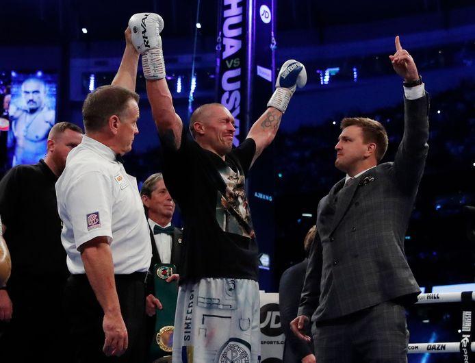 Oleksandr Usyk won op punten van titelverdediger Anthony Joshua en is de nieuwe wereldkampioen bij de zwaargewichten