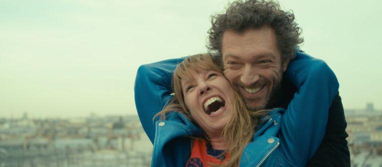 Emmanuelle Bercot en Vincent Cassel in Mon roi van Maïwenn Beeld