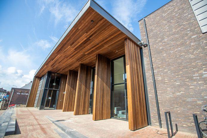 Nieuwe cultuurzaal De Borgh in Budel.