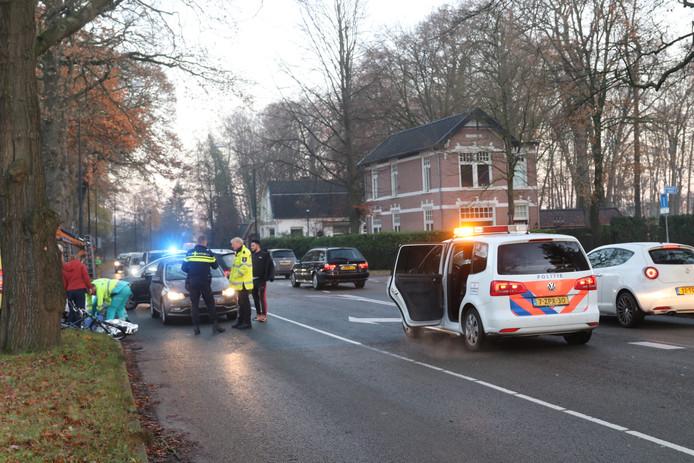 Ongeval Europaweg Apeldoorn ter hoogte van de Rabobank.