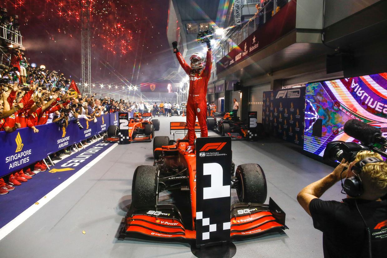 Vettel werd vier keer wereldkampioen, maar niet bij zijn droomteam Ferrari.  Beeld BSR Agency
