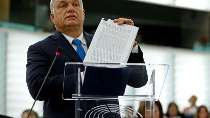 EU lanceert 'atoombomprocedure' tegen Hongarije voor schending Europese waarden
