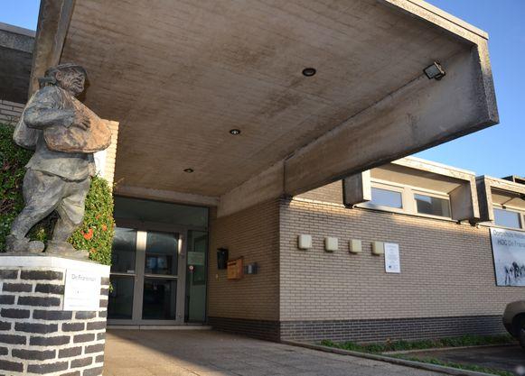 Lokaal dienstencentrum Rustnbeetje in HOC De Fransman in Heldergem.