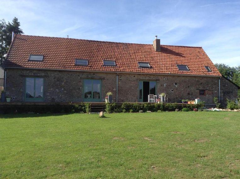Wim en Leentje hebben de oude boerderij opgeknapt tot een gezellig vakantieoord.