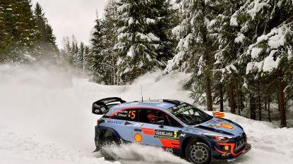 Thierry Neuville leidt na eerste dag in Rally van Zweden