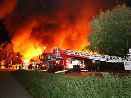 Restaurant Abel in Poortugaal verwoest door felle brand