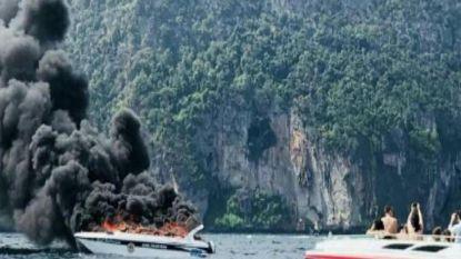 16 gewonden nadat speedboot vuur vat in Thailand