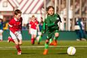 Sterrentoernooi bij HVV in Den Haag. Weder Bremen speelt tegen PSV.