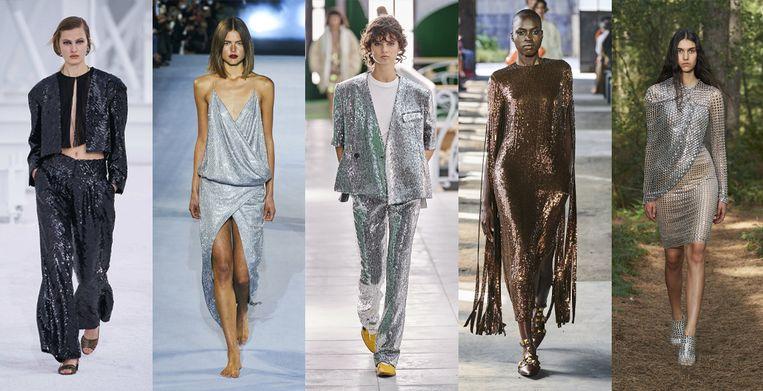 Chanel, Balmain, Louis Vuitton, Valentino, Burberry Beeld Imaxtree