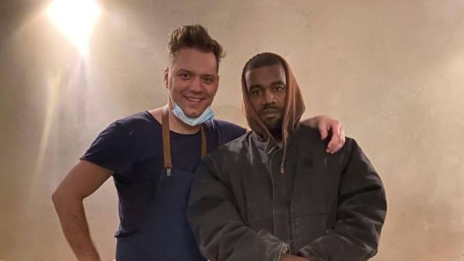 """Kanye West bezoekt Antwerps restaurant: """"Hij testte negatief op Covid-19, maar positief op ons eten"""""""
