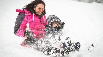 IN BEELD. Sneeuwpret op Baraque Fraiture, skisezoen in ons land van start