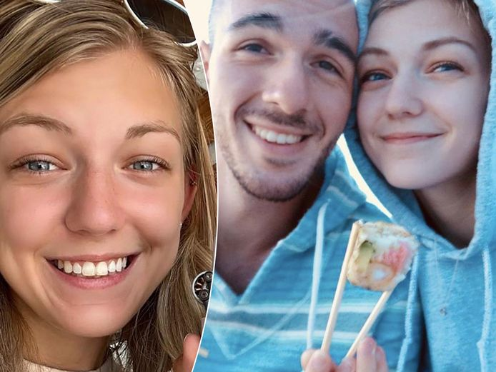 Gabby Petito en haar verloofde Brian Laundrie.