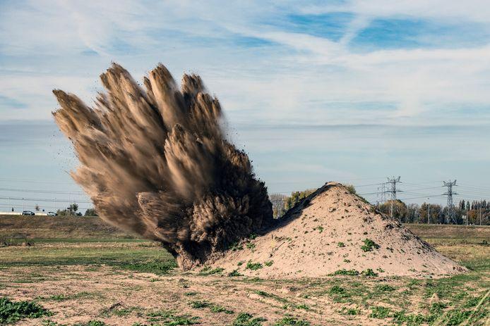 In de gemeente Loon op Zand worden nog altijd explosieven gevonden uit de Tweede Wereldoorlog. (foto ter illustratie.)