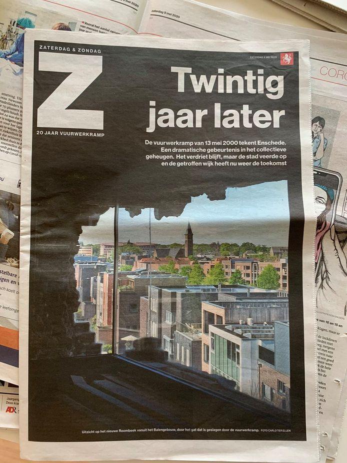 Voorpagina bijlage Twintig jaar later Vuurwerkramp Enschede