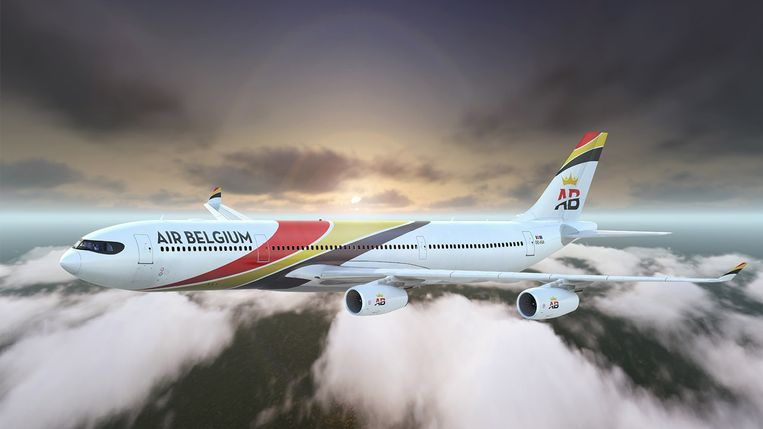Air Belgium Beeld Air Belgium