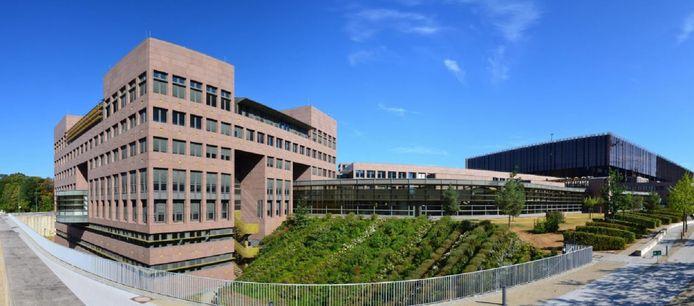 Het Hof van Justitie van de Europese Unie in Luxemburg.