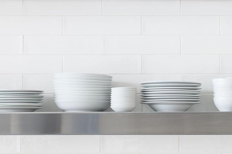 Witte keuken Beeld Getty Images