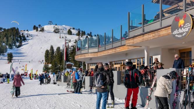 Amper mensen in skigebieden Oostenrijk