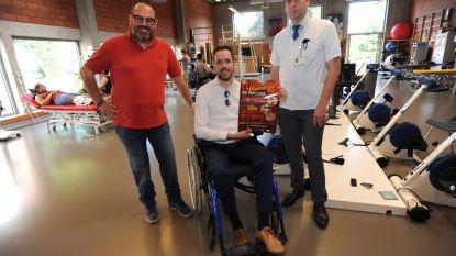 Leive Vloms schenkt 13.000 euro aan onderzoek naar MS