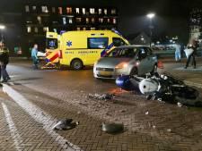 Motorrijder gewond bij aanrijding in Enschede