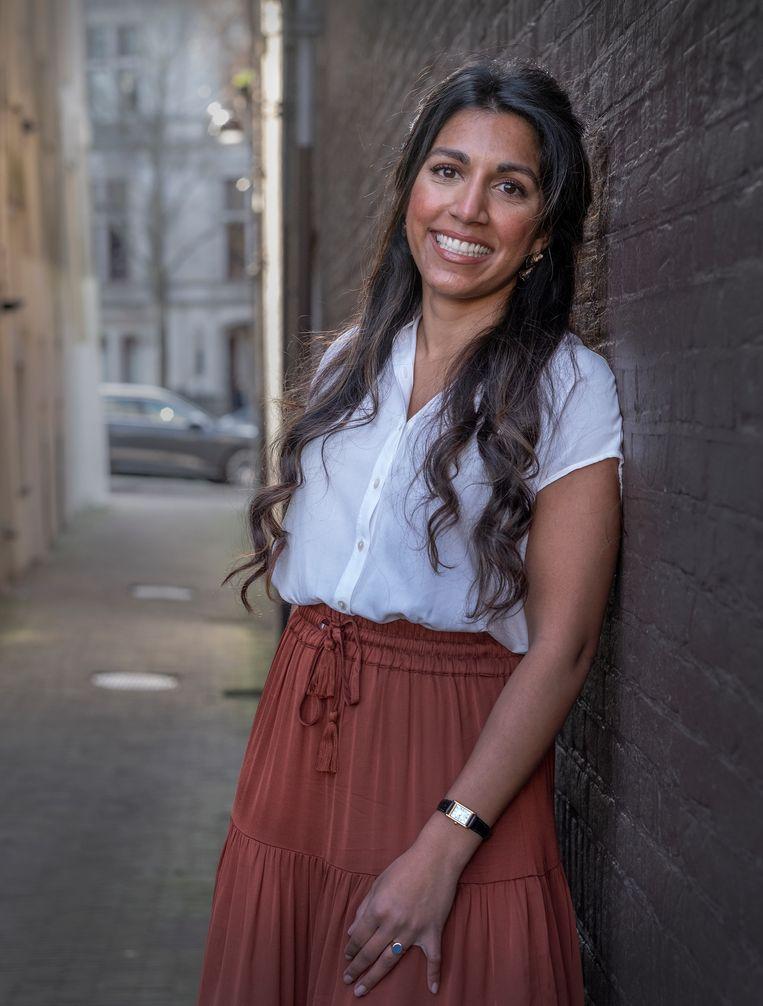 Portret van Varsha Martens. Beeld Patrick Post