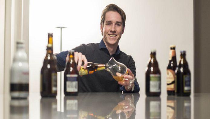 Sven Boers hoopt binnenkort het Westlander Bier te kunnen presenteren.