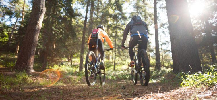 """Femke: """"Mountainbiken is best uitdagend voor een 7-jarige met autisme"""""""