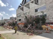 Deel gebouw en steiger ingestort in Antwerpen: zeker één dode, twintigtal gewonden, nog vijf vermisten