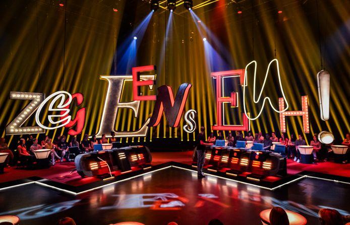 Het populaire programma 'Zeg eens euh!' maakte in 2016 een comeback op VIER.