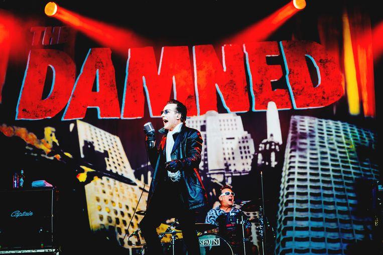 The Damned. Beeld Stefaan Temmerman