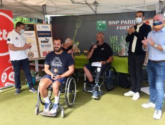Staatssecretaris deelt trofeeën uit op internationaal rolstoeltennistornooi