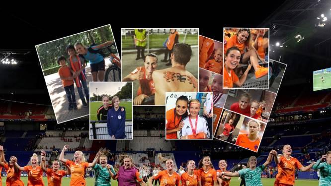 Groenen tot Van Veenendaal: de leukste selfies met de Leeuwinnen