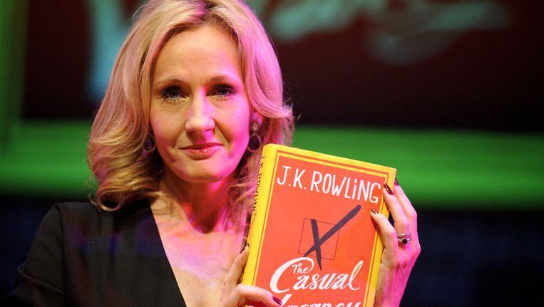 Schrijfster J.K. Rowling Beeld getty