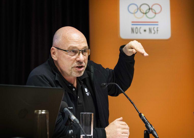 Technisch directeur Maurits Hendriks van het NOC NSF waarschuwt voor een braindrain: 'Het risico bestaat dat onze coaches vertrekken als de erkenning en het carrièreperspectief in het buitenland groter is.' Beeld ANP