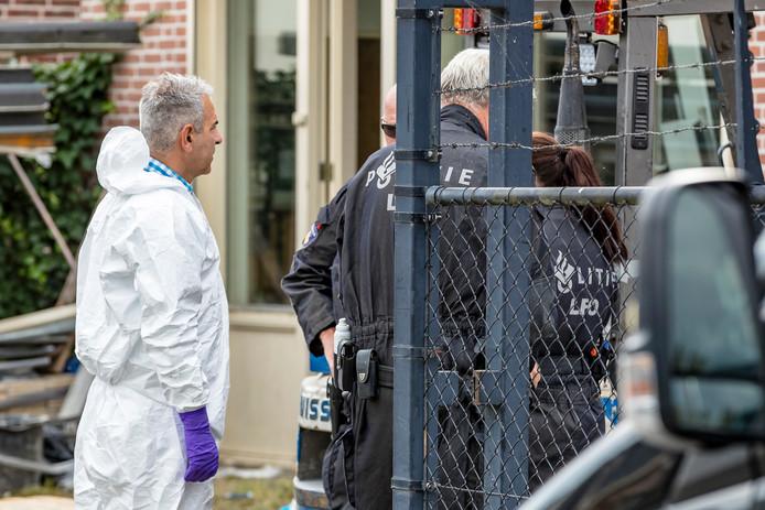 Opruiming drugslab Lage Zwaluwe.