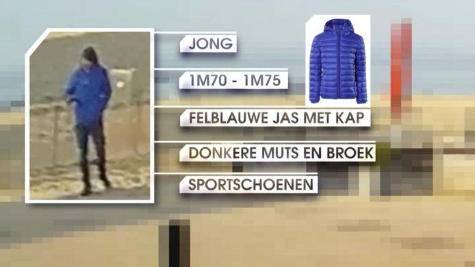 28 maart: gisteren zijn nog maar eens beelden verspreid van de man met de blauwe jas die enkele uren zou hebben rondgezworven rond de vindplaats van het lichaam.