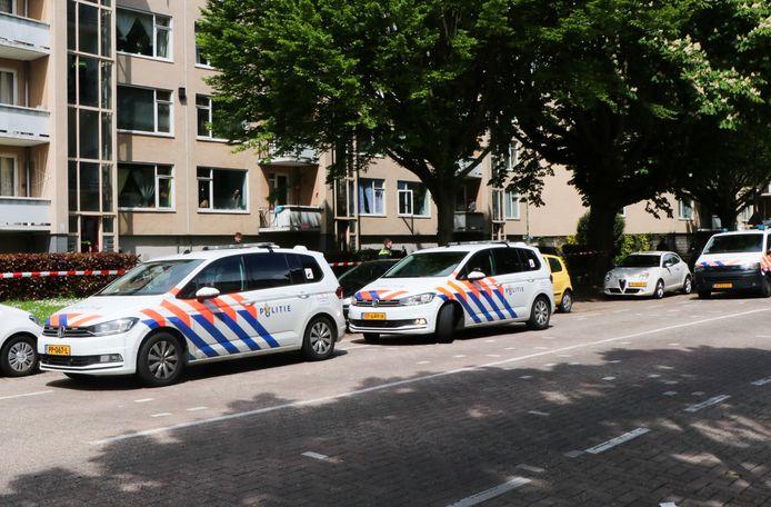 Aan de Thorbeckeweg in Dordrecht was zondag een steekpartij.
