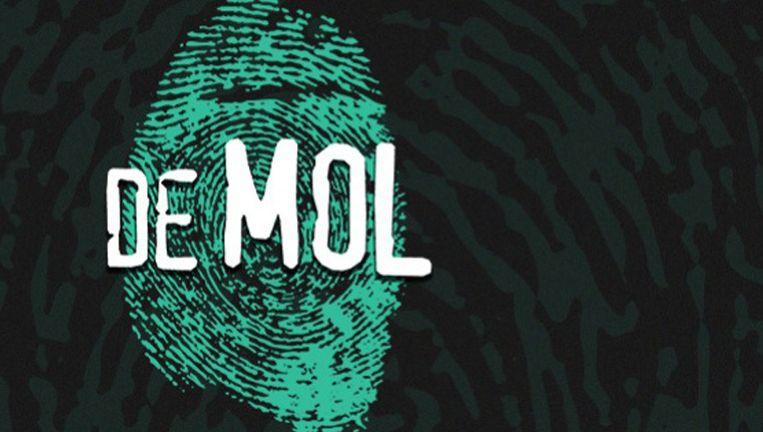 Het logo van de Vlaamse versie van Wie is de Mol? Beeld Vier