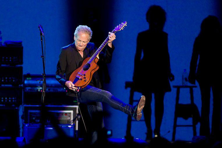 Gitarist Lindsey Buckingham van Fleetwood Mac was er in 2015 in de Ziggo Dome nog bij. Inmiddels ligt hij eruit.