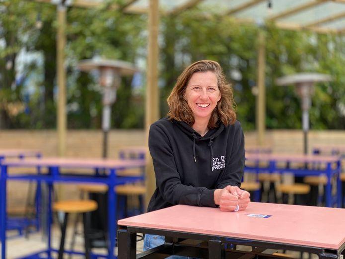 Kim Vlaminck van de Glasfabriek op de Koopvaardijlaan.
