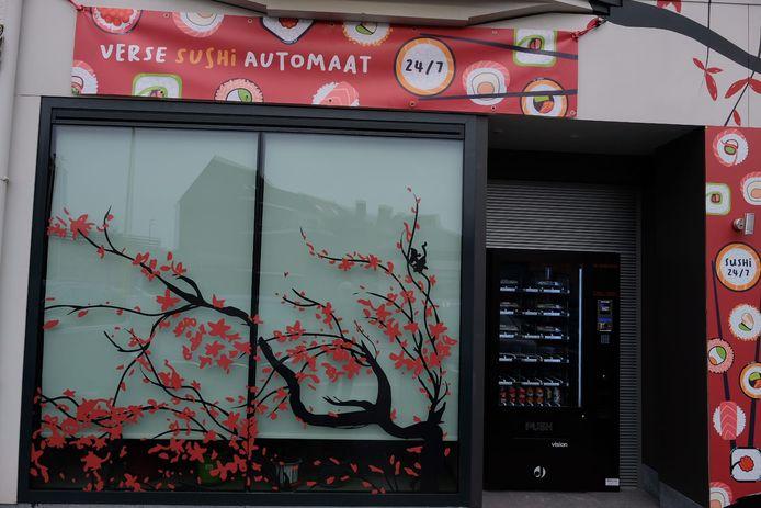 Xing Xing plaatst sushi-automaat Grimbergen